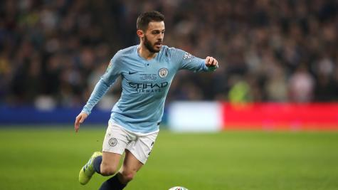 Bernardo Silva welcomes pressure of title race as Manchester derby looms