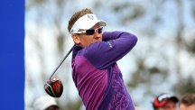 Ian Poulter, pictured, has hit back at the PGA of America president Ted Bishop