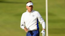 Ian Poulter, pictured, described Ted Bishop's comments as 'pretty shocking and disappointing'