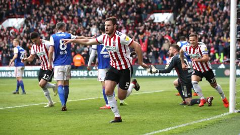 Blades close in on Premier League return after Ipswich win