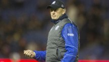 Scotland coach Vern Cotter, pictured, named Hugh Blake in his squad for the RBS 6 Nations