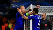 John Terry, left, got the ball rolling for Chelsea