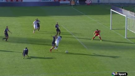 Bordeaux Cedric Carrasso makes a spectacular save