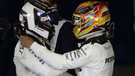 Bottas hints his relationship with Hamilton could sour in battle for F1 title