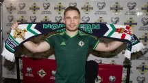 Boxer Carl Frampton watched Northern Ireland qualify for Euro 2016