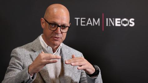 Brailsford now 'calmer' after enduring turbulent times