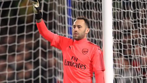 David Ospina returns home from hospital after collapsing during Napoli match