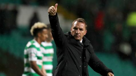 Brendan Rodgers looking for Celtic to up their game