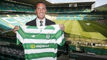 Brendan Rodgers took over as Celtic manager at the end of May