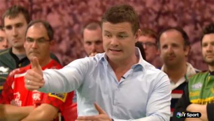 Brian O'Driscoll breakdown masterclass on Rugby Tonight