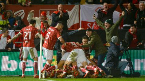 Bristol City's shock defeat of Manchester United in social and pictures