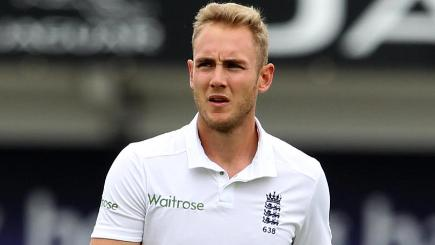 Stuart Broad came in for criticism on Tuesday