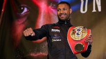 Kell Brook wants to be back in action before the end of May