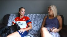 BT Sport go behind the scenes with Arsenal Ladies' Casey Stoney