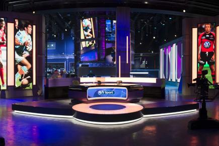 BT Sport will be broadcast live from our state-of-the-art studios on the Queen Elizabeth Olympic Park