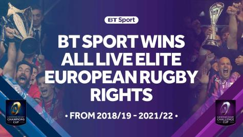 BT Sport wins exclusive European rugby rights
