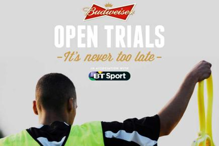 Budweiser Open Trials