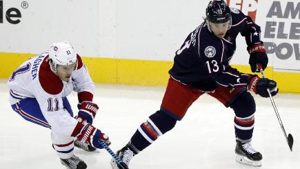 Blue Jackets 5, Canadiens 2
