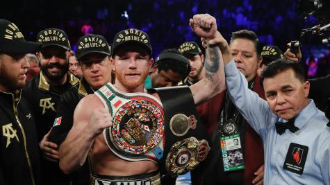 Canelo defeats Golovkin by majority decision after rematch in Las Vegas