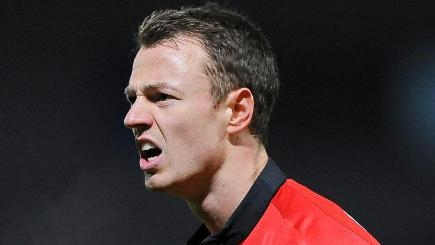 Jonny Evans had a night to forget in Milton Keynes