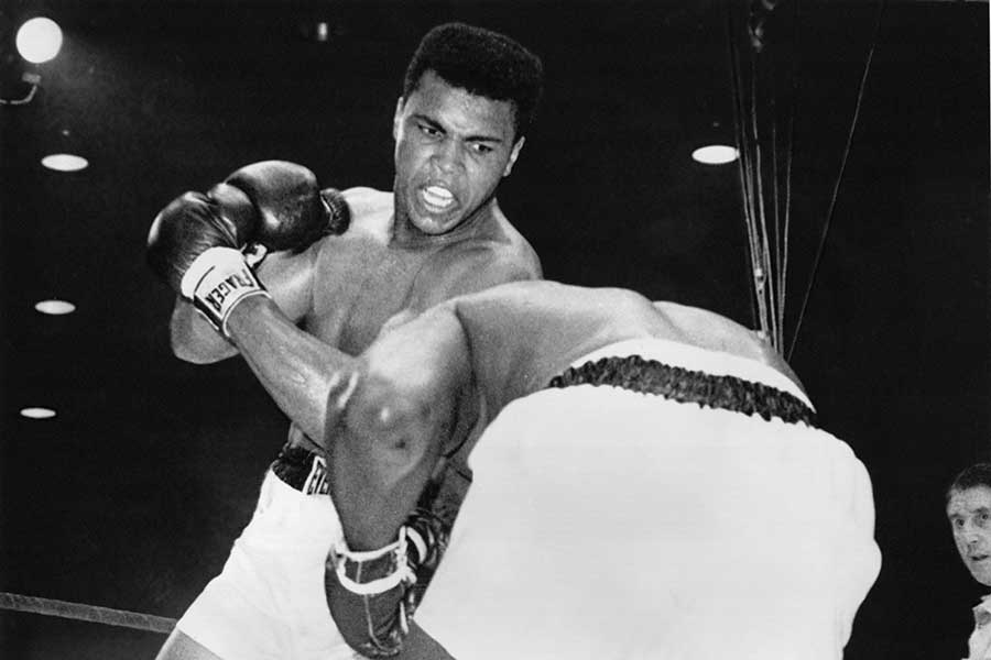 cassius clay beats liston essay Muhammad ali was born cassius marcellus clay, jr, on january 17, 1942, and was he beat liston in a display of beautiful, controlled boxing.