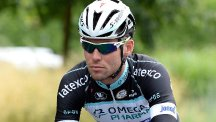 Mark Cavendish is getting ready for the Tour de France