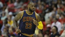 LeBron James poured in 30 points for Cleveland (AP)
