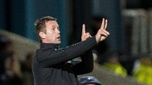 Ronny Deila was disappointed with the disruption during the minute's silence in Dingwall