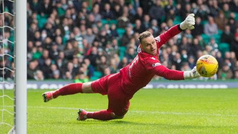Stephen Robinson tells Celtic to dig deeper for Motherwell keeper Trevor Carson