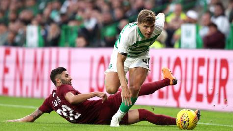 Celtic winger James Forrest eager to secure positive result in Romania
