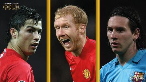 Champions League Gold: Manchester United 1-0 Barcelona (2007/08) - The Scholes Semi-final