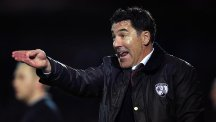 Chesterfield manager Dean Saunders has been sacked