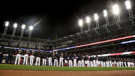 The Cleveland Indians could not win game two at their home ground (AP)