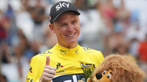 Froome in touching distance of a fourth Tour win