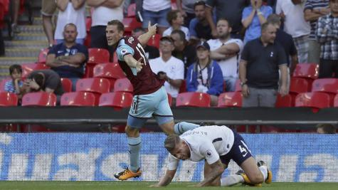 Wood denies Spurs first Wembley win