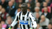Papiss Cisse, pictured, dedicated his match-saving double to team-mate Jonas Gutierrez