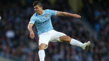 Sergio Aguero is one of three Manchester City players in Argentina's preliminary World Cup squad