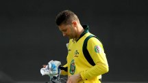 Michael Clarke will return home to Australia to have his hamstring injury assessed