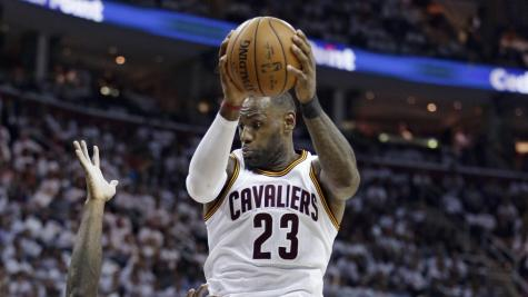 LeBron James surpasses Kobe Bryant on two different National Basketball Association playoff record lists