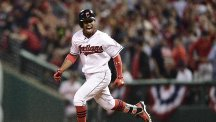 Francisco Lindor went deep in the bottom of the third inning for the Indians (AP)