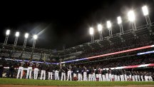 The Cleveland Indians overcame the Chicago Cubs 6-0 on Tuesday night (AP)