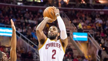 Cleveland star Kyrie Irving