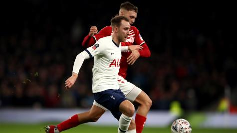 Committed but underwhelming – Christian Eriksen's display in focus