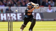 Ross Taylor played his part in New Zealand's win