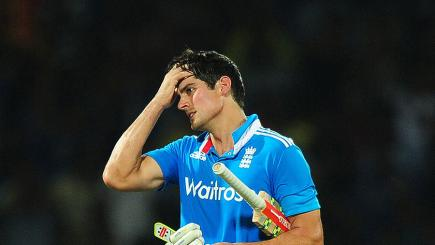 Cook dropped as England ODI skipper