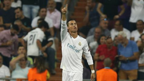 Cristiano Ronaldo doubles up as Real Madrid launch Champions League mission