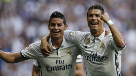 Sensational Real Madrid trounce Sevilla, keep La Liga title hopes alive