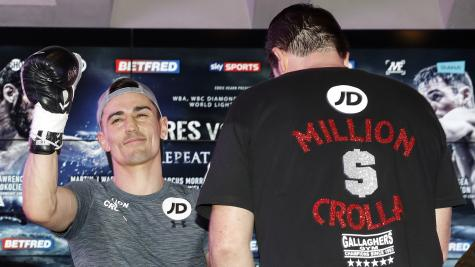 Crolla confident of improved showing and 'different result' in Linares rematch