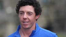 Rory McIlroy was among the early arrivals at Gleneagles