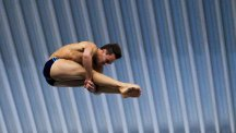Tom Daley is competing at the London Aquatics Centre this weekend